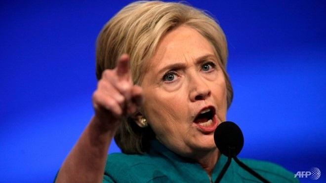 Ứng viên tổng thống đảng Dân chủ Hillary Clinton (Ảnh: AFP)