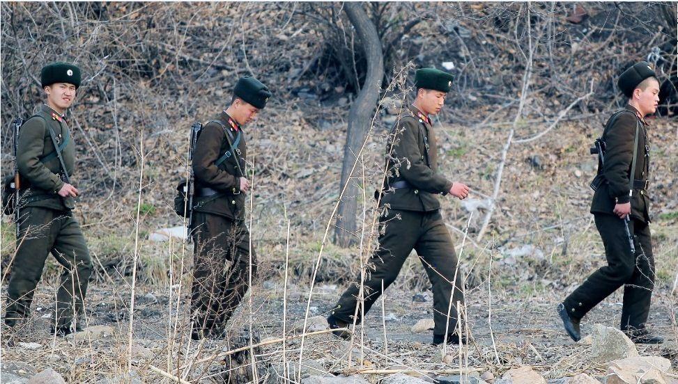 Lính Triều Tiên đi tuần (Ảnh minh họa: Getty)