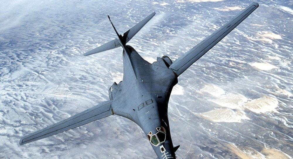 Máy bay ném bom tầm xa B-1 Lancer của Mỹ (Ảnh: Sputnik)