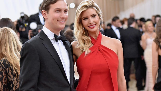 Ivanka Trump và chồng, nhà phát triển bất động sản Jared Kushner (Ảnh: Getty)