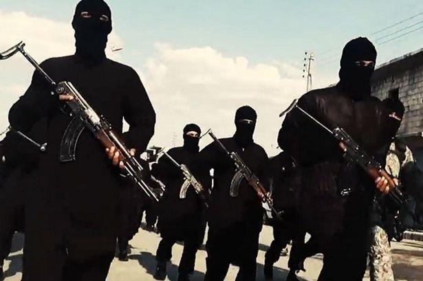 Các chiến binh IS (Ảnh: Mirror)