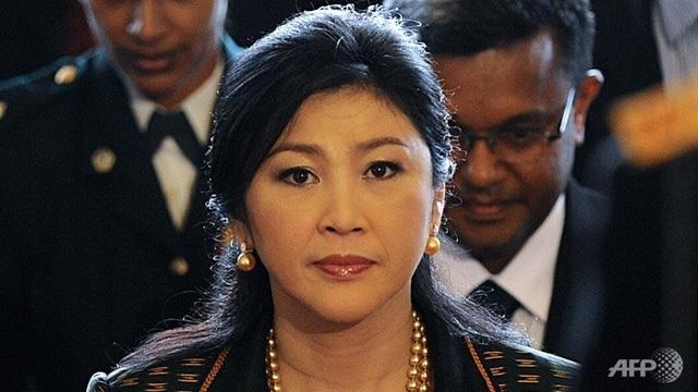 Cựu Thủ tướng Thái Lan Yingluck Shinawatra. (Ảnh: AFP)