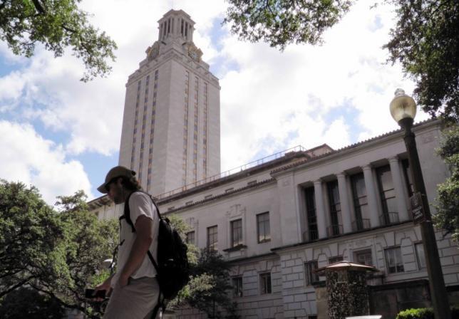 Khuôn viên Đại học Texas, Mỹ (Ảnh: Reuters)