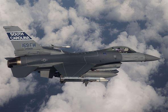 Máy bay chiến đấu F-16 của Mỹ (Ảnh: Osan Airbase)