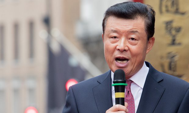 Đại sứ Trung Quốc tại Anh Lưu Hiểu Minh (Ảnh: Guardian)