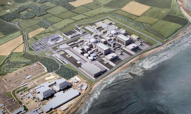 Dự án nhà máy điện hạt nhân Hinkley. (Ảnh: EDF)