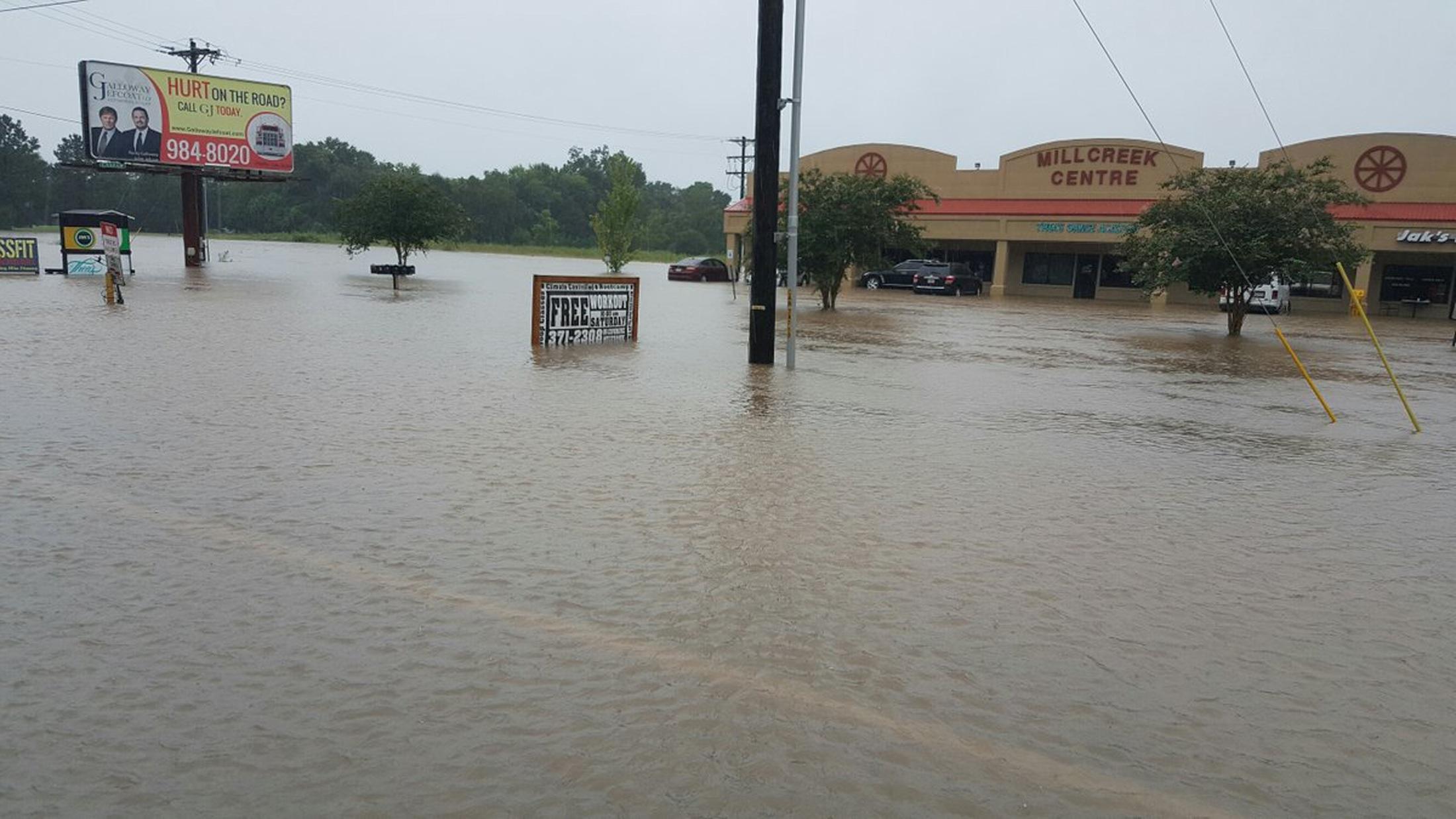 Các bang lân cận như bang Alabama và Mississippi cũng đang phải hứng chịu tình trạng thời tiết khắc nghiệt khi những cơn mưa lớn liên tục đổ xuống trong những ngày qua.