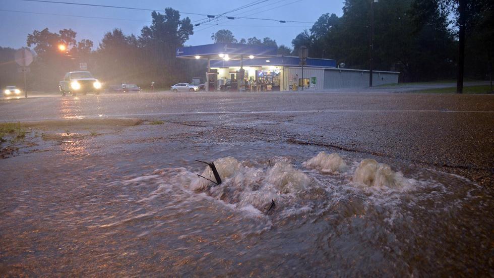 Trận lụt được dự báo vẫn tiếp tục ảnh hưởng đến một số khu vực của Louisiana cho đến hết tuần.