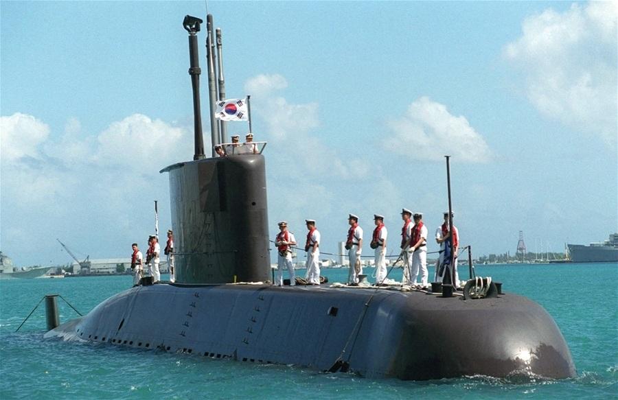 Một tàu ngầm của Hải quân Hàn Quốc (Ảnh: Military Today)