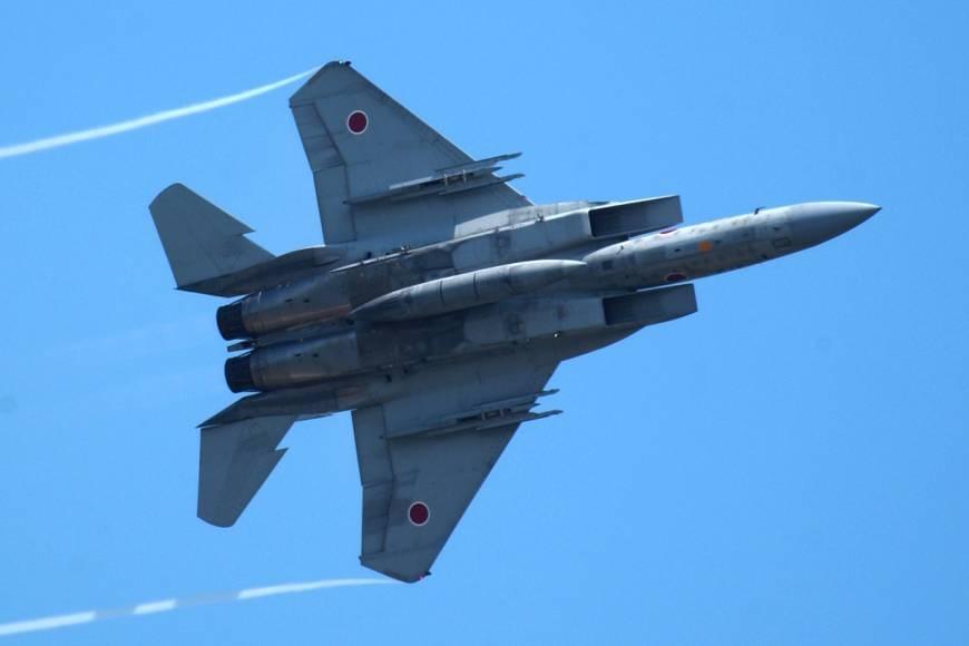 Máy bay chiến đấu F-15 của Nhật Bản (Ảnh: Japan Times)