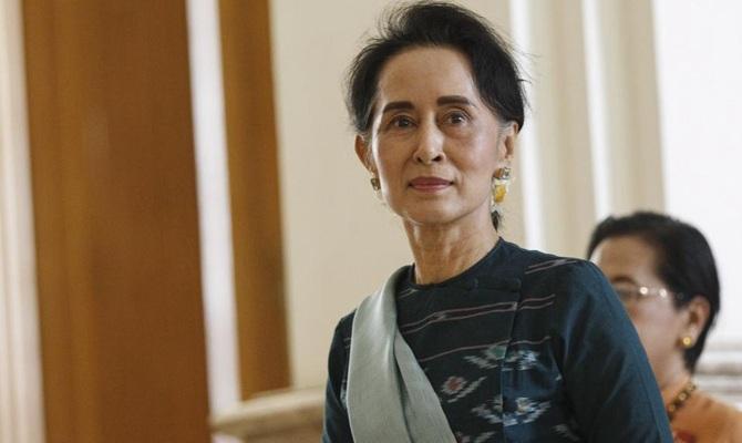 Cố vấn Nhà nước Myanmar Aung San Suu Kyi. (Ảnh: Xinhua)