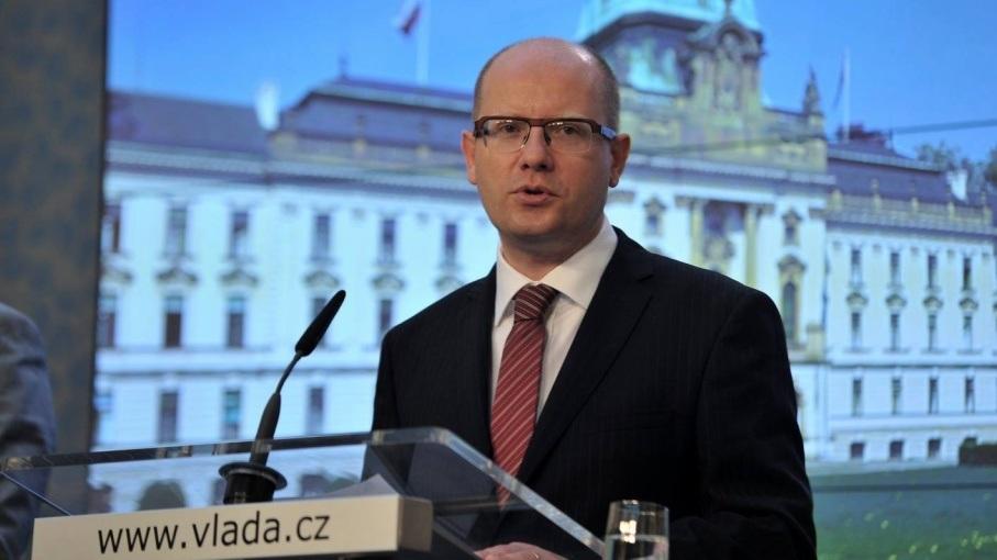Thủ tướng Séc Bohuslav Sobotka (Ảnh: Intellinews)