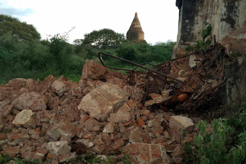 Cố đô Bagan, nằm ở miền trung Myanmar, có hơn 2.000 công trình tôn giáo gồm chùa và đền thờ được xây dựng từ thế kỷ 10 đến thế kỷ 14. (Ảnh: Reuters)
