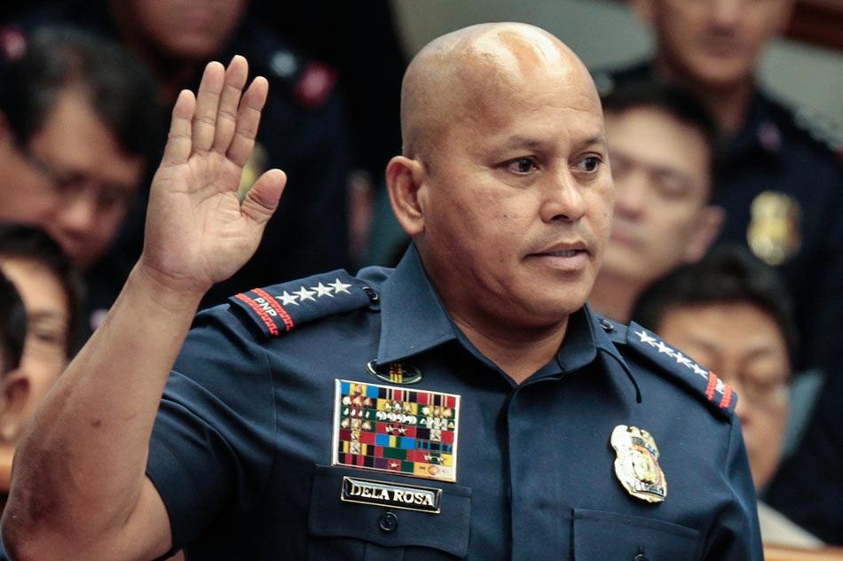 Cảnh sát trưởng quốc gia Philippines Ronald dela Rosa. (Ảnh: ABS)