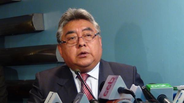 Thứ trưởng Nội vụ Bolivia Rodolfo Illanes (Ảnh: Infobae)
