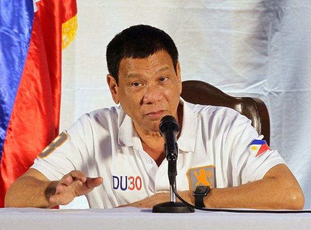 Tổng thống Philippines Rodrigo Duterte (Ảnh: EPA)