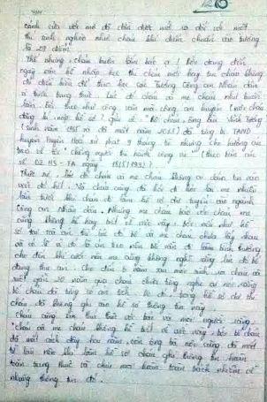 Bức tâm thư đẫm nước mắt của nữ sinh 29 điểm rớt ĐH gửi Bộ trưởng Bộ Công an - 2