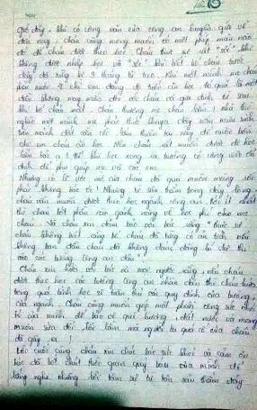 Bức tâm thư đẫm nước mắt của nữ sinh 29 điểm rớt ĐH gửi Bộ trưởng Bộ Công an - 3