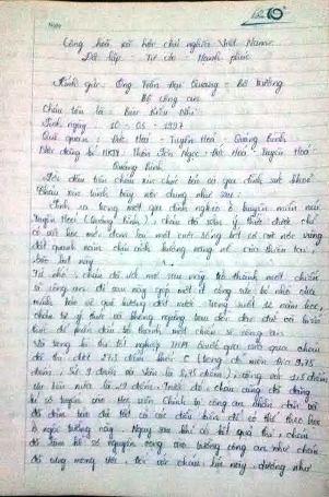 Bức tâm thư đẫm nước mắt của nữ sinh 29 điểm rớt ĐH gửi Bộ trưởng Bộ Công an - 1