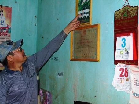 Cựu binh Nguyễn Văn Thống luôn mong muốn được gặp lại đồng đội Gạc Ma vào ngày 14/3 hàng năm