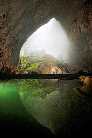 Hình ảnh đẹp mê hồn ở hang Sơn Đoòng (Ảnh: Internet)