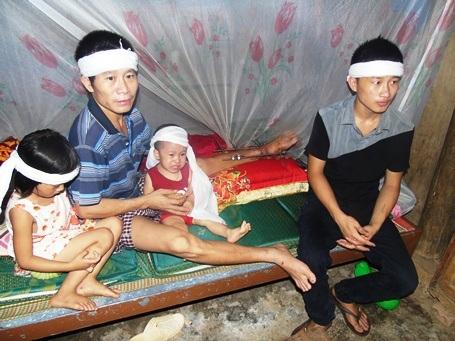 Hoàn cảnh rất thương tâm của gia đình anh Lê Văn Biên
