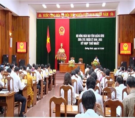 HĐND tỉnh Quảng Bình khóa XVII, nhiệm kỳ 2016-2021 đã thông qua nghị quyết thành lập Sở Du lịch