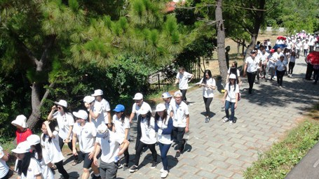 Chương trình có sự tham gia của 110 đại biểu thanh niên kiều bào từ 26 quốc gia và vùng lãnh thổ