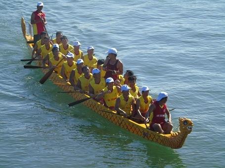 Đua thuyền Quảng Bình tranh tài với các đội đến từ Lào, Thái Lan - 8