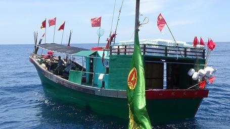 Tàu cá Trung Quốc vi phạm lãnh hải Việt Nam