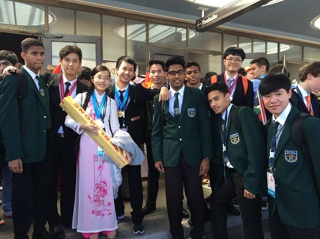 Nguyễn Thế Quỳnh mong muốn có thể tiếp tục lọt vào đội tuyển thi Olympic Vật lý vào năm sau được tổ chức tại Indonesia