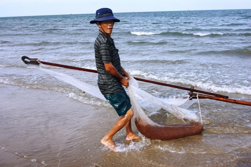 Ngư dân rất phấn khởi và hy vọng giá khuyếc sẽ tăng lên trong thời gian tới
