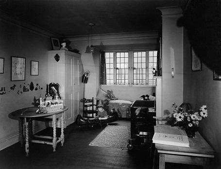 Căn phòng của cậu bé Christopher Robin năm 1925.