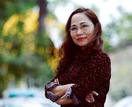 NSND Thúy Mùi - Giám đốc Nhà hát Chèo Hà Nội (Ảnh: NVCC)