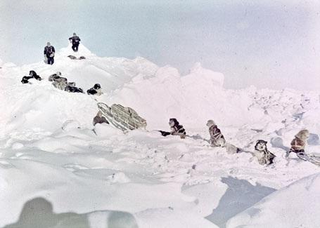 Tàu Endurance bị chìm, đoàn buộc phải lên đường tìm về đất liền.