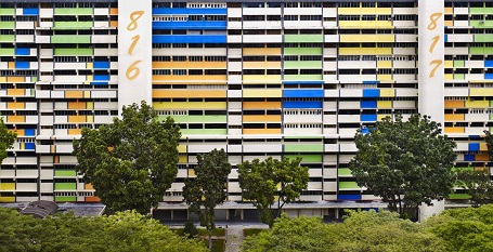 Steinhauer đã có quãng thời gian sống tại Việt Nam, Singapore, Hồng Kông. Anh cũng đã đi du lịch rất nhiều ở Châu Á, nhưng Steinhauer chưa từng thấy ở đâu có những tòa chung cư giống như ở Singapore.