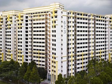 Phần đông dân cư sống trong thành phố của Singapore, với khoảng 6 triệu dân, đều ở trong những tòa chung cư như thế này.
