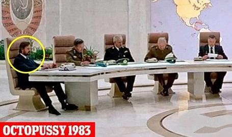 Nhưng về sau, Wilson lại vào vai một nhân vật thuộc nhóm đối đầu với 007.