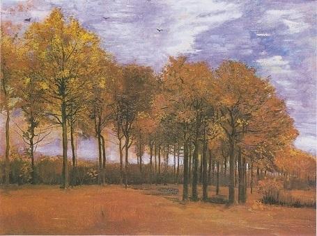 """Bức """"Cảnh thu"""" (1885) - danh họa người Hà Lan Vincent van Gogh."""