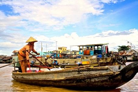 Chợ nổi Cái Răng - Nerizza Besabe Manongdo