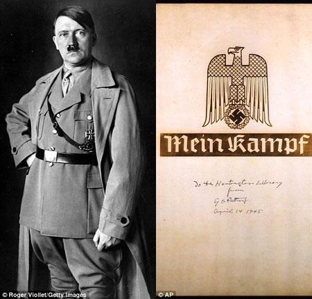 """Cuốn """"Mein Kampf"""" đã xuất hiện ở nhiều nước trên thế giới nhưng không được phép lưu hành tại Đức trong suốt những thập kỷ qua, kể từ năm 1945."""