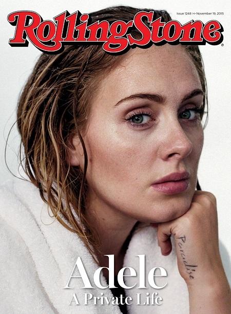 Tạp chí Rolling Stone. Số ra ngày 19/11/2015. Ảnh: Theo Wenner.