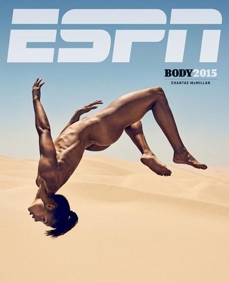 Tạp chí ESPN, Body Issue. Ảnh: Carlos Serrao.