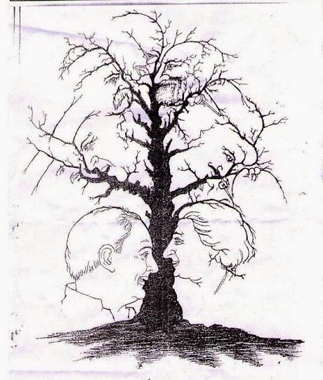 Còn bạn, bạn có tìm ra được 10 gương mặt chắc chắn có trong bức vẽ này không?