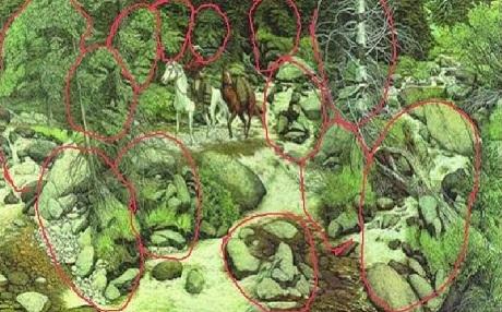 Giải mã những gương mặt ẩn giấu trong bức tranh đánh lừa thị giác - 4