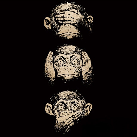 """Triết lý sâu sắc đằng sau 3 chú khỉ """"che mắt, che tai, che miệng"""" - 2"""