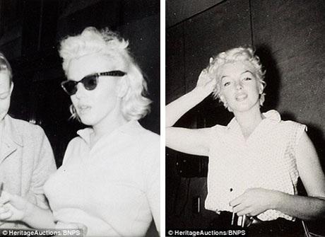 Marilyn trong trang phục đời thường.