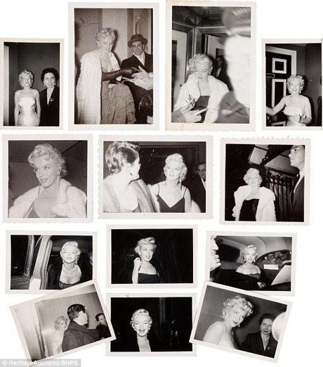 Cho tới giờ, những bức ảnh chụp Marilyn vẫn rất có giá.