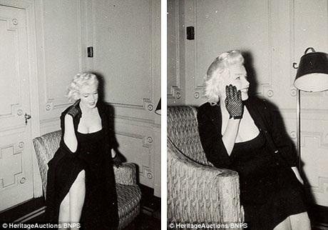 Trước khi trở thành diễn viên, Marilyn đã là một người mẫu ảnh, vì vậy, cô rất biết cách tạo dáng đẹp tự nhiên trước ống kính.