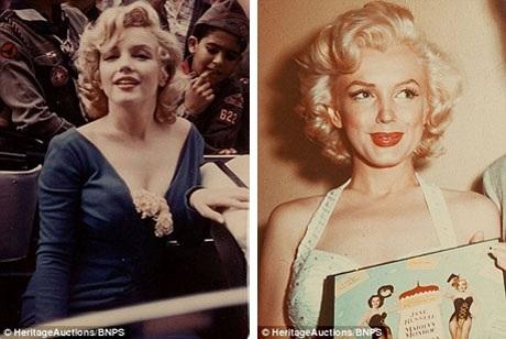 Những bức ảnh màu đặc tả được vẻ đẹp trứ danh của Marilyn Monroe.